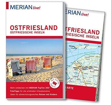 MERIAN live! Reiseführer: Ostfriesland Ostfriesische Inseln - Mit Extra-Karte zum Herausnehmen - Knut Diers [Taschenbuch]