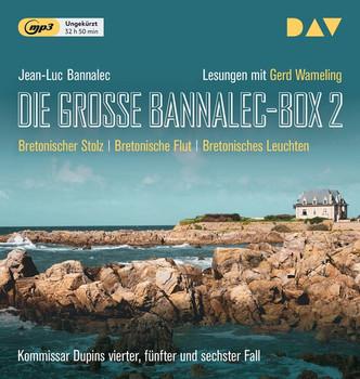 Die große Bannalec-Box 2. Ungekürzte Lesungen mit Gerd Wameling - Jean-Luc Bannalec  [3 mp3-CDs]