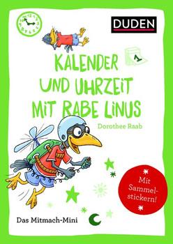 Duden Minis (Band 17) - Uhr, Monate und Jahreszeiten mit Linus - Annette Weber  [Taschenbuch]