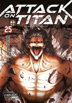 Attack on Titan 25 - Hajime Isayama  [Taschenbuch]