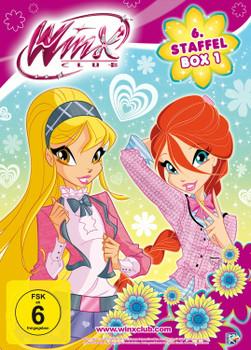 Winx Club - 6. Staffel, Box 1 [2 DVDs]