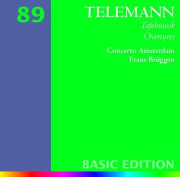 Brüggen - Overtures from Tafelmusik