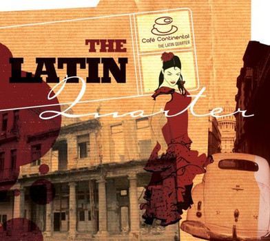 Various Artists - Caf Continental - The Latin Quartet- enthlt re-recordings (Dieser Titel enthlt Re-Recordings)