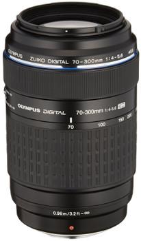 Olympus 70-300 mm F4.0-5.6 ED 58 mm Obiettivo (compatible con Four Thirds) nero