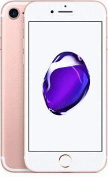 Apple iPhone 7 128 Go or rose