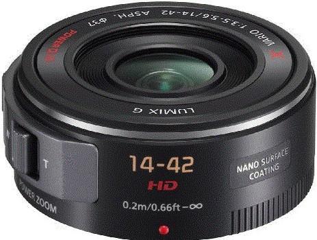 Panasonic Lumix G X VARIO 14-42 mm F3.5-5.6 ASPH. PZ 37 mm filter (geschikt voor Micro Four Thirds) zwart