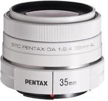 Pentax smc DA 35 mm F2.4 AL 49 mm Objetivo (Montura Pentax K) blanco