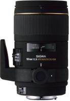 Sigma 150 mm F2.8 APO DG EX IF Macro 72mm Objectif (adapté à Canon EF) noir