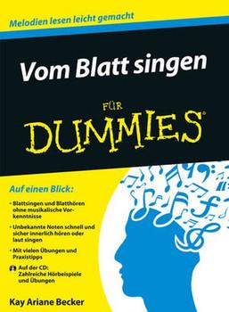 Vom Blatt singen für Dummies - Kay Ariane Becker [Taschenbuch]
