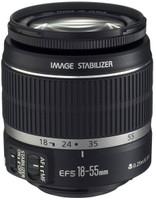 Canon EF-S 18-55 mm F3.5-5.6 IS 58 mm Objectif (adapté à Canon EF-S) noir