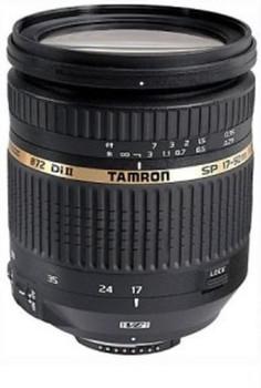 Tamron SP AF 17-50 mm F2.8 ASL Di IF LD VC XR II 72 mm Objectif  (adapté à Canon EF) noir