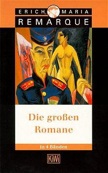 Die großen Romane - Erich M. Remarque [4 Bände, Taschenbuch]