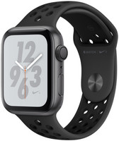 Apple Watch Nike+ Series 4 44mm caja de aluminio en gris espacial y correa Nike Sport antracita/negra [Wifi]