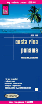 Reise Know-How Landkarte Costa Rica, Panama (1:550.000): world mapping project - Peter Rump, Reise Know-How Verlag
