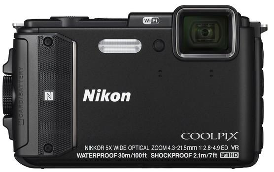 Nikon COOLPIX AW130 zwart