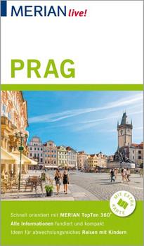 MERIAN live! Reiseführer Prag. Mit Extra-Karte zum Herausnehmen - Thomas Veszelits  [Taschenbuch]