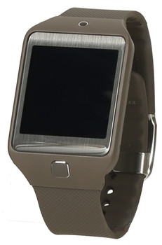 Samsung Gear 2 Neo 41,4 mm bruin met silicone bandje mocca