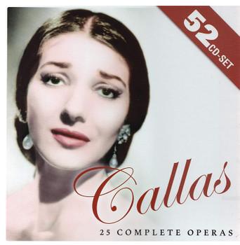 Maria Callas - 25 Complete Opera [52 CDs]