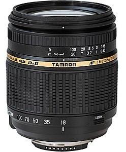 Tamron AF 18-250 mm F3.5-6.3 ASL Di IF LD II Macro 62 mm Objectif  (adapté à Canon EF) noir