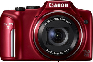 Canon PowerShot SX170 IS rouge