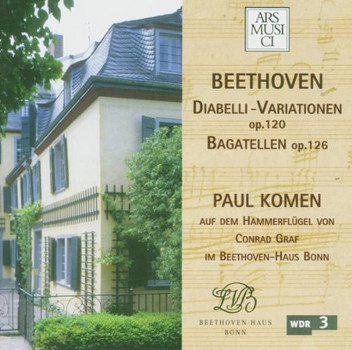 Paul Komen - Diabelli-Variationen/Bagatelle