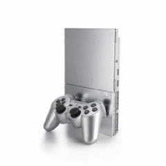 Sony PlayStation 2 slim [incl. Controller] zilver