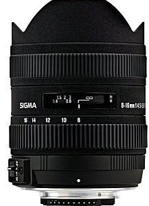 Sigma 8-16 mm F4.5-5.6 DC HSM (compatible con Canon EF) nero