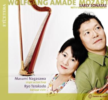 Masumi Nagasawa - Sonaten für Harfe und Violine