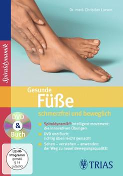 Gesunde Füße - schmerzfrei und beweglich: DVD & Buch - Christian Larsen