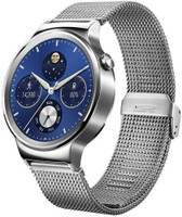 Huawei Watch Classic 18 mm argent en acier argent [Wi-Fi]