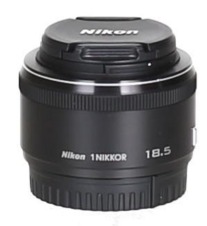 Nikon 1 NIKKOR 18,5 mm F1.8 40,5 mm Objectif (adapté à Nikon 1) noir