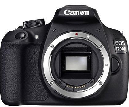 Canon EOS 1200D body zwart