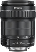 Canon EF-S 18-135 mm F3.5-5.6 IS STM 67 mm Objetivo (Montura Canon EF-S) negro