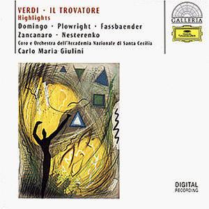 Domingo - Galleria - Verdi (Der Troubadour: Highlights)