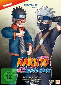 Naruto Shippuden - Die komplette Staffel 18, Box 2 [3 DVDs]
