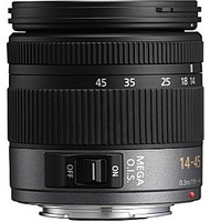 Panasonic Lumix G VARIO 14-45 mm F3.5-5.6 ASPH. O.I.S. 52 mm Objectif (adapté à Micro Four Thirds) noir