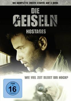 Die Geiseln - Hostages, die komplette zweite Staffel [3 DVDs]