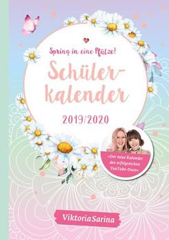 Spring in eine Pfütze! Schülerkalender 2019/2020 - ViktoriaSarina  [Taschenbuch]