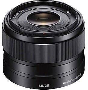 Sony E 35 mm F1.8 OSS 49 mm filter (geschikt voor Sony E-mount) zwart