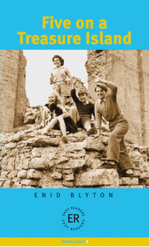 Five on a Treasure Island: 4. Lernjahr. Level B, 1200 Wörter - Enid Blyton