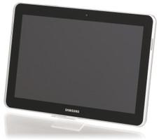 """Samsung Galaxy Tab 10.1N 10,1"""" 32 Go [Wi-Fi + 3G] blanc"""