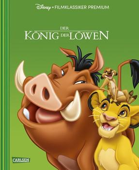 Disney Filmklassiker Premium: König der Löwen - Disney  [Gebundene Ausgabe]
