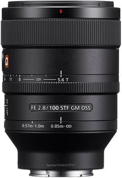 Sony FE 100 mm F2.8 GM OSS STF 57 mm filter (geschikt voor Sony E-mount) zwart