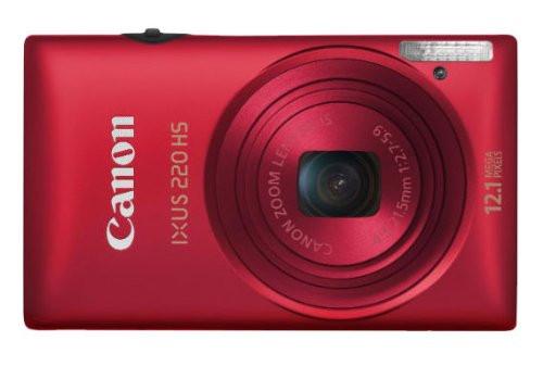 Canon IXUS 220 HS rojo