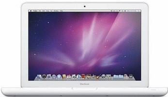 "Apple MacBook 13.3"" (Brillant) 2.4 GHz Intel Core 2 Duo 2 Go RAM 250 Go HDD (5400 tr/min.) [Mi-2010, Clavier anglais, QWERTY] blanc"