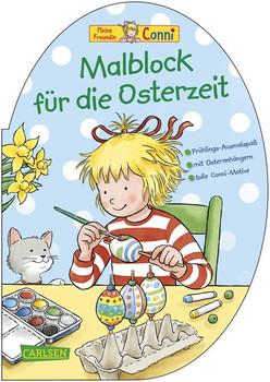 Conni Gelbe Reihe: Malblock für die Osterzeit - Hanna Sörensen  [Taschenbuch]