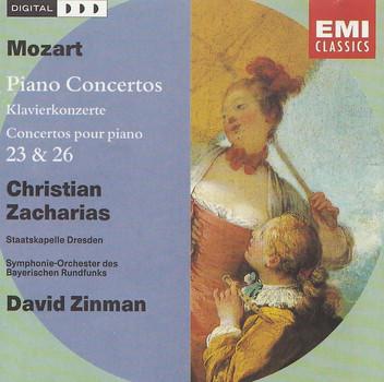 Christian Zacharias, Symphonieorchester des Bayerischen Rundfunks - David Zinman: Wolfgang Amadeus Mozart - Piano Concertos 23 & 26