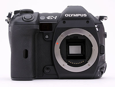 Olympus E-1 body zwart