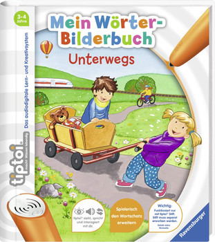 tiptoi® Mein Wörter-Bilderbuch: Unterwegs - Yvonne Follert [Spiralbindung]