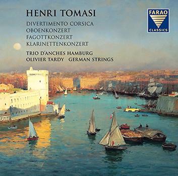 Trio d'Anches Hamburg - Henri Tomasi-Konzerte für Holzbläser